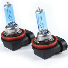 2pcs H11 White Fog Halogen Xenon Bulb 55W Car Headlight Lamp 12V