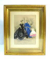 Imagen en el marco Francia alrededor de 1880 Firmado Jules David Le Revista el