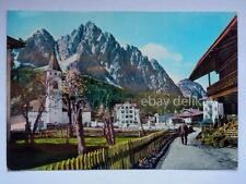 SAPPADA CIMA Monte Siera Cadore chiesa Belluno vecchia cartolina