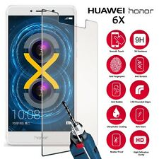 For Huawei Honor 6X - 100% Genuine Tempered Glass Film Screen Protector