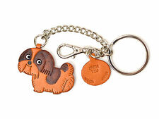 Shih Tzu Handmade 3D Leather Dog Bag/Ring Charm *VANCA* Made in Japan #26072