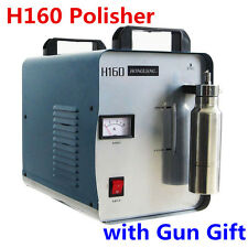 220V 75L H160 Oxygen Hydrogen Water Welder Flame Generator Polisher Machine +Gun