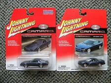 1984 CHEVY CAMARO Z28 & 1993 CAMARO COUPE    JOHNNY LIGHTNING CAMARO SS   1:64