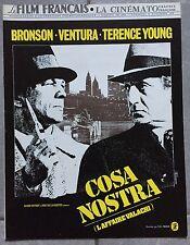Magazine FILM FRANCAIS La Cinémato COSA NOSTRA Bronson LINO VENTURA 1972 *