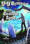 A to Z Mysteries: The Zombie Zone (A Stepping Stone Book(TM))-ExLibrary