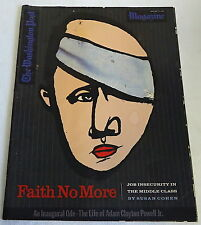 January 17, 1993 Washington Post Magazine ~ FAITH NO MORE
