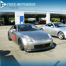 Fit FOR 06-09 NISSAN 350Z FRONT BUMPER LIP BODYKITs NIS STYLE POLY URETHANE