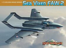 1/72 British Royal Navy Fighter Sea Vixen FAW.2 Plastic Model Kit