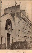 PARIS MAISON DE LA BONNE PRESSE IMAGE 1901 PRINT ;