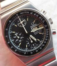 Omega Speedmaster Automatic Chronograph mens wristwatch steel case day & date