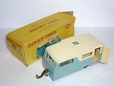 FOUR BERTH CARAVAN 188 DINKY TOYS ENGLAND NEAR MINT IN ORIGINAL BOX