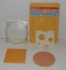 Vintage Fisher Price Fun With Food Bologna & Cheese Play Set
