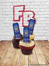 Novelty Tennents Super T Can Stand Up Fairy Cake Cupcake Toppers Edible Birthday