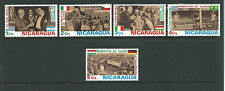 FIFA World Cup 1974 - Germany  Part  set of 5  MNH/ MUH Value Here