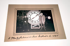 BACK TO THE FUTURE - Prop - Doc and Marty in front of the Clock-Tower 1885
