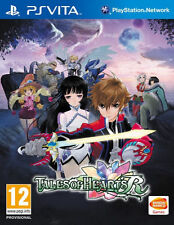 Tales of Hearts R (Sony PlayStation Vita, 2014) BRAND NEW FACTORY SEALED