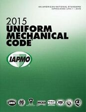 2015 Uniform Mechanical Code Book in Soft Cover - New