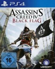 PlayStation 4 figuras assassins creed IV Black Flag como nuevo