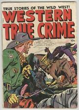 Western True Crime #4 February 1949 VG Quantrill – Johnny Craig art