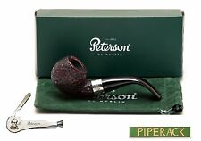 NEW Peterson Donegal Rocky Bent Briar Pipe 03 Fishtail (Free Pipe Tool)