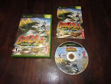 Godzilla Destroy All Monsters Melee (Xbox) Xbox 360 COMPLETE Fun KIDS or FAMILY