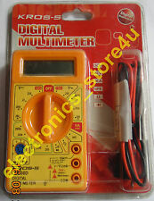 Portable Digital Multimeter DT830D With High Quality Probes - 1 Piece