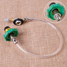 Camping Propane Gas Refill Flat Cylinder Tank Coupler Adapter Inflatable Valve