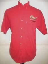 Winners Circle Dale Earnhardt Jr Men's Dress Shirt Red Button Down Size Large