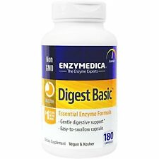 Digest Basic Essential Enzyme Formula Gentle Digestive Support by Enzymedica