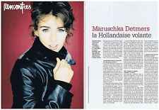 COUPURE DE PRESSE CLIPPING 1996 MARUSCHKA DETMERS le Hollandaise volante 2 pages
