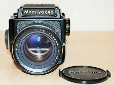 MAMIYA M 645, neuwertig, mehrere  Objektive,  Koffer  und Zubehör