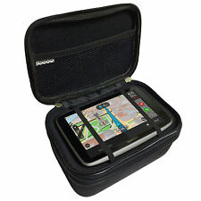 "6"" Multi-Compartment Heavy Duty Carry All Case For TomTom GO 6200 620 5200 520"