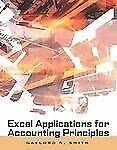 Excel Applications for Accounting Principles (with Excel Templates Computer Disk