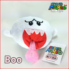 Super Mario Bros Plush Boo Ghost Soft Toy Nintendo Stuffed Animal Doll Figure 5""
