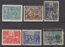 Spain 6 diff stamps Postal Orphans School Charity Seals Cinderellas