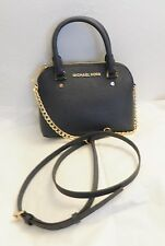 NWT MICHAEL Michael Kors Cindy XSmall Saffiano Leather Crossbody Navy