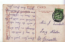 Genealogy Postcard - Family History - Turnbull - Long Newton - St Boswells A1110