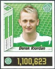 PANINI SCOTTISH PREMIER LEAGUE 2008- #091-CELTIC-DEREK RIORDAN