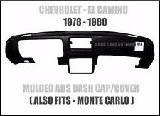 Chevy El Camino Monte Carlo 1978 1979 1980 Fullface Dash Cap Cover Overlay