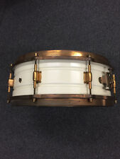 Leedy White Elite Snare Drum 1920's $1999.99