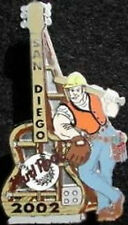 Hard Rock Cafe SAN DIEGO 2002 Baseball Park Construction Guy PIN - HRC #14673