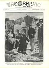 1905 The King Of Italy Among The Victims Of Earthquake Zammaro