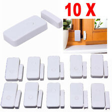 10x 433MHz Wireless Window Door Sensor Detector Magnetic Monitor Alarm Security