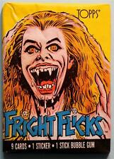 Fright Flicks Lady Monster Trading Card Pack