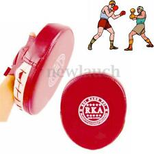 Boxing Mitt Training Focus Target Punch Pad Glove MMA Karate Combat Thai Kick US