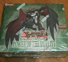 yugioh power of the duelist 1st edition english booster box