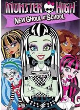 Monster High: New Ghoul at School (DVD, WS) NEW SEALED