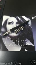 MONT BLANC SPECIAL EDITION GRETA GARBO DIAMOND FOUNTAIN PEN 36025