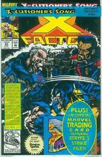 X-Factor # 85 (Jae Lee, X-Cutioner's Song, with trading card (USA, 1992)
