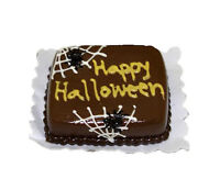 Dollhouse Haunted Happy Halloween Spider Web Cake 1:12 Miniatures for Doll House